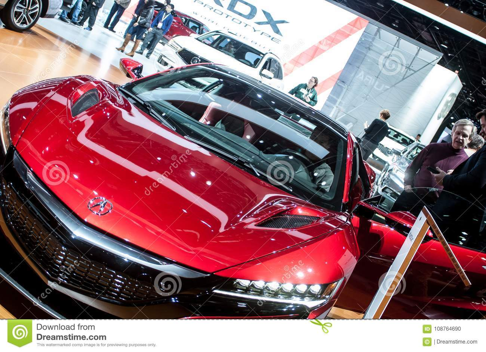 North American International Auto Show Editorial Image Image - International autos
