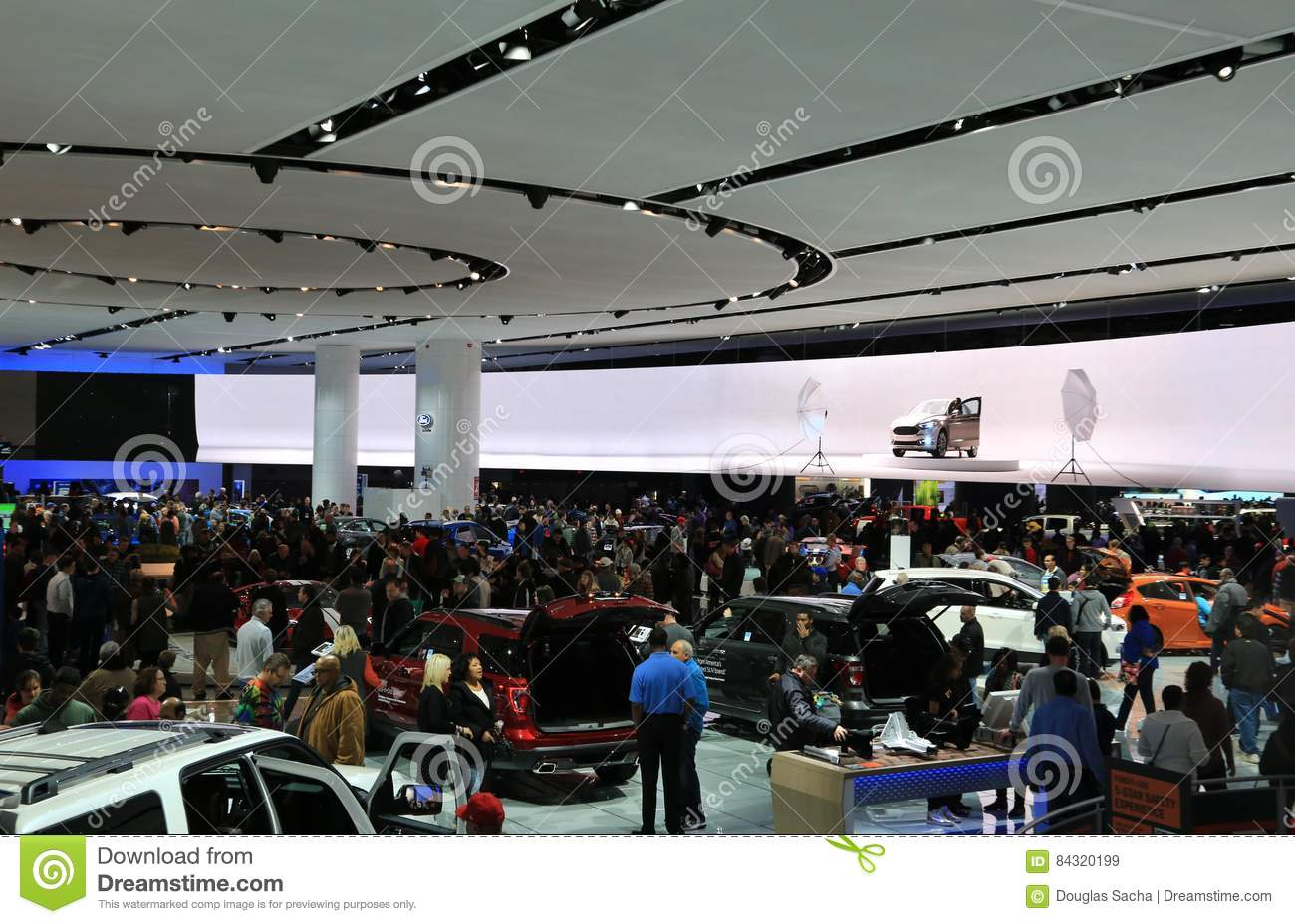 New Vehicles 2017 >> 2017 North American International Auto Show Editorial Stock