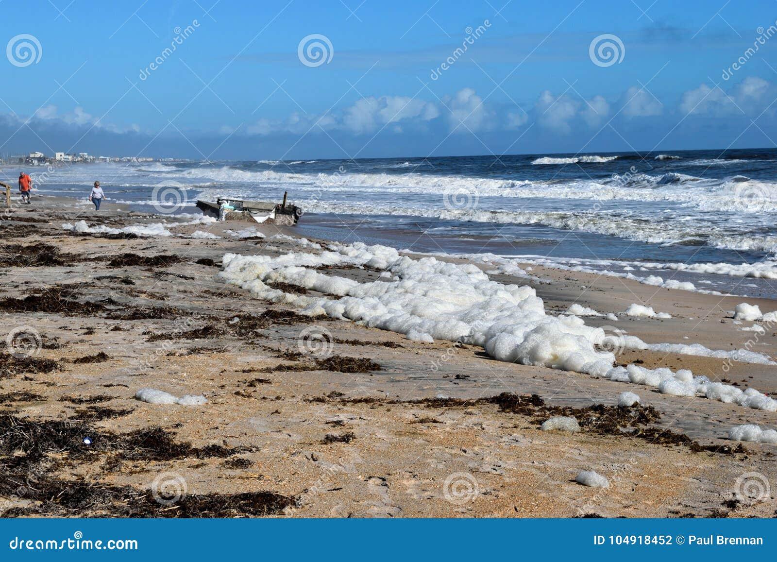 North Beach after Hurricane Irma