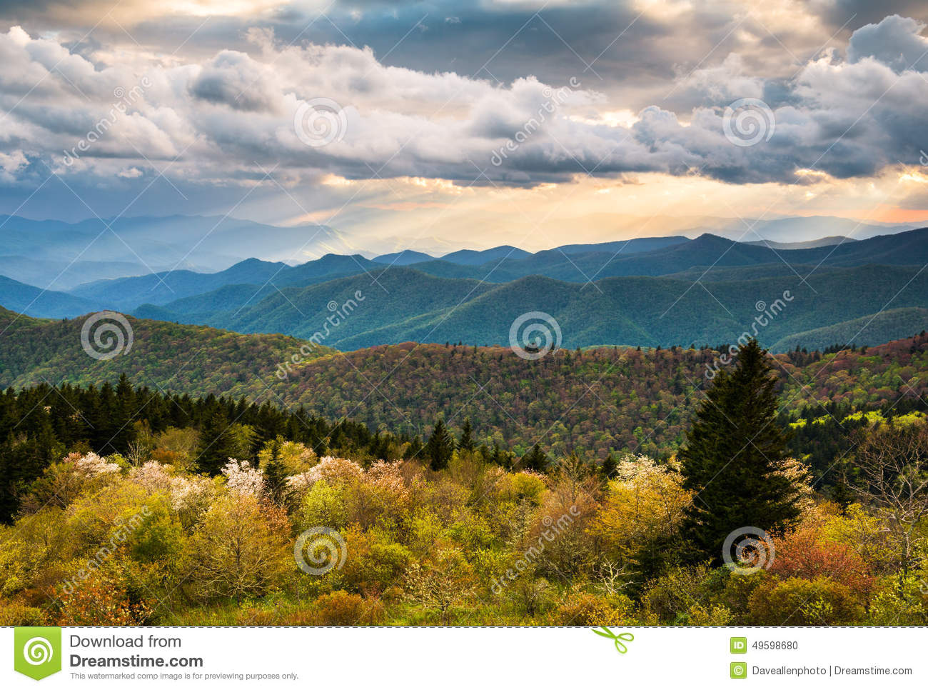 North carolina blue ridge parkway scenic mountain for Nearby landscapers