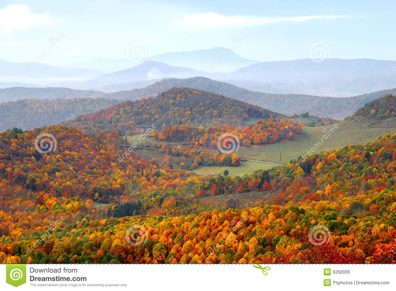 North Carolina Highlands And Grandfather Mountain Stock