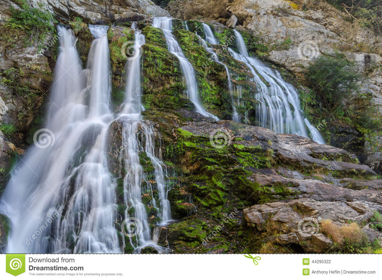 North Carolina, waterfall