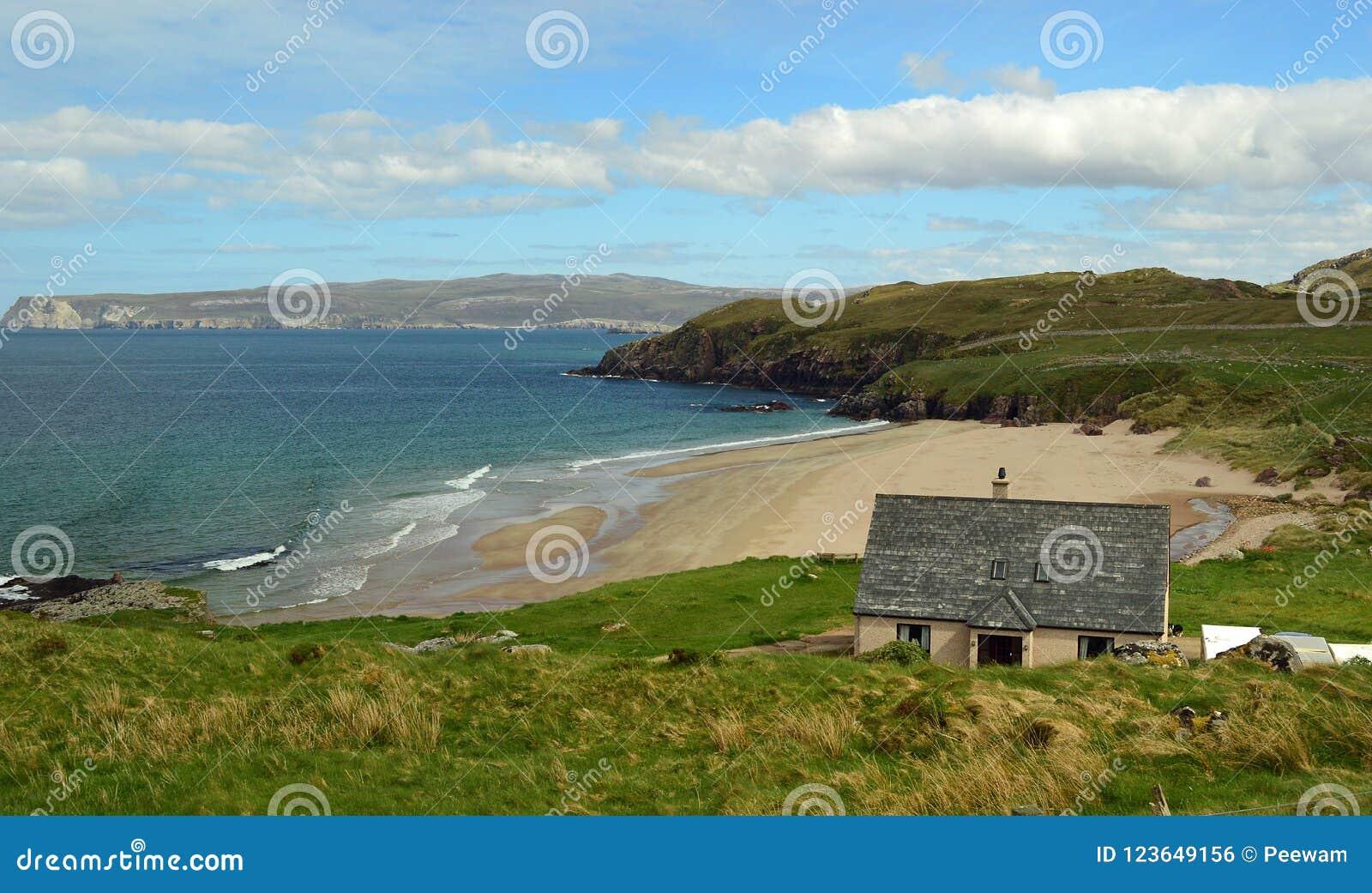 Sutherland beach on the North Coast 500, Scotland United Kingdom Europe