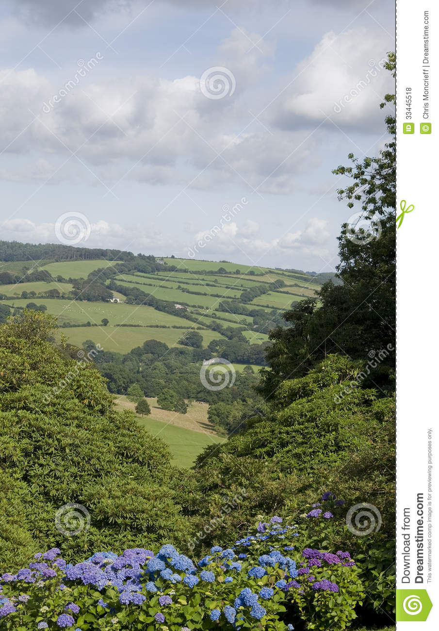 North cornwall lanscape royalty free stock photos image 33445518 - Countryside dream gardens ...