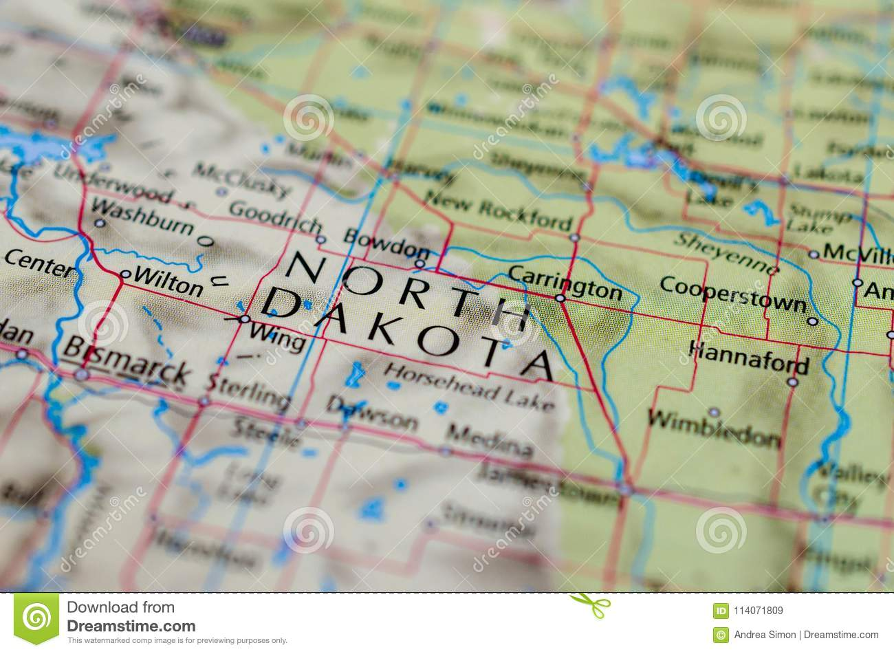 North Dakota on map stock image. Image of american ... on carrington nd map, foster county nd map, carrington north dakota weather, carrington nd weather, carrington north dakota hotels, fortuna nd map, mohall nd map, kensal nd map, cavalier nd map,