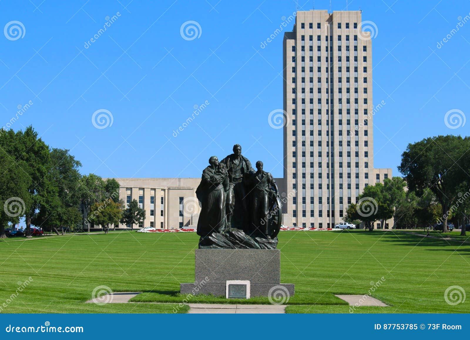 North Dakota statcapitol