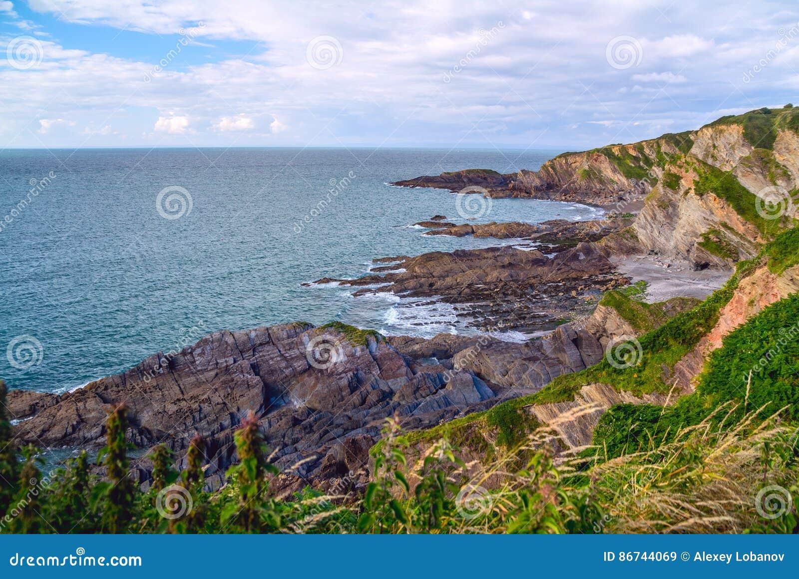 North Devon Coast near Hele Bay
