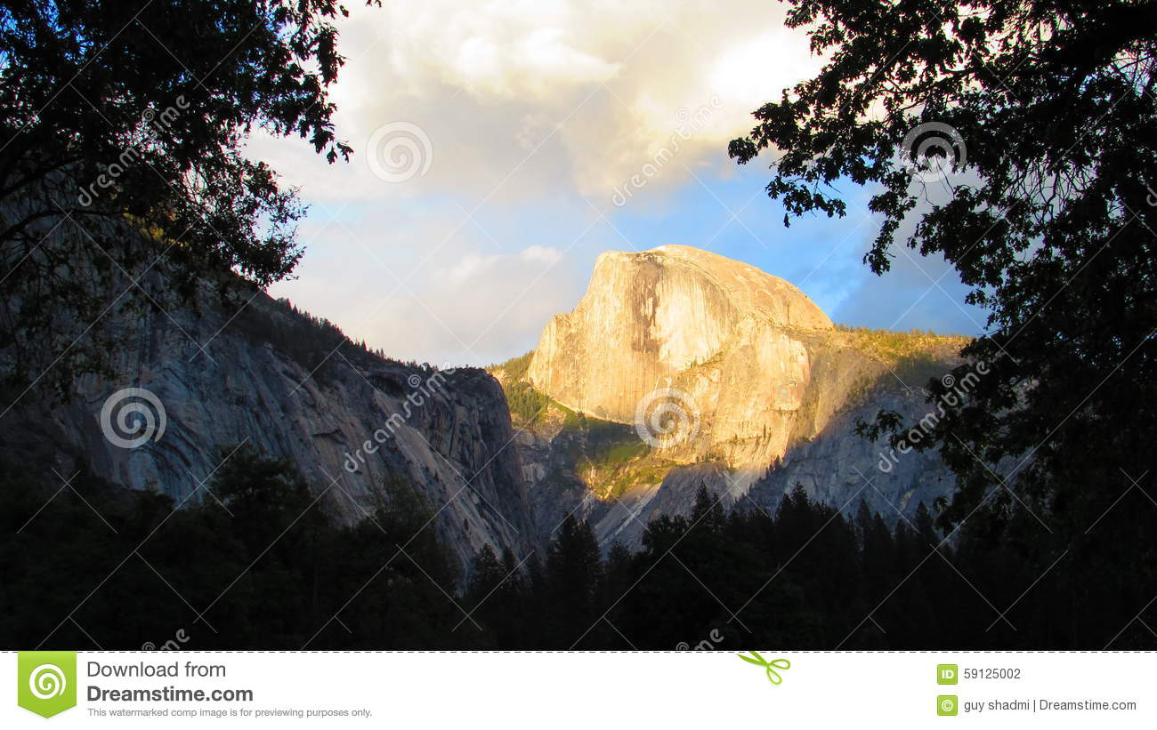The North Face Symbol In Yosemite National Park Stock Photo Image
