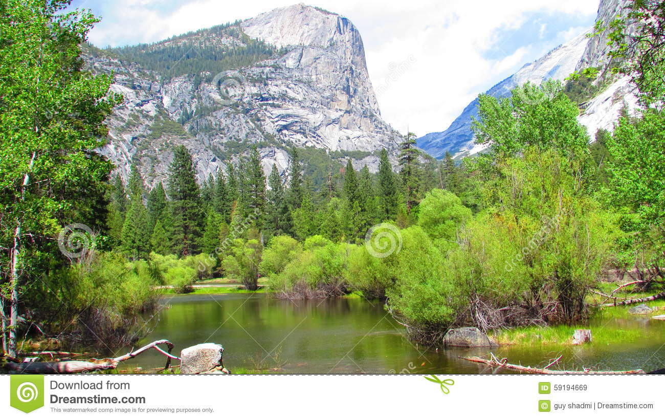 The North Face Symbol In Yosemite National Park Stock Image Image