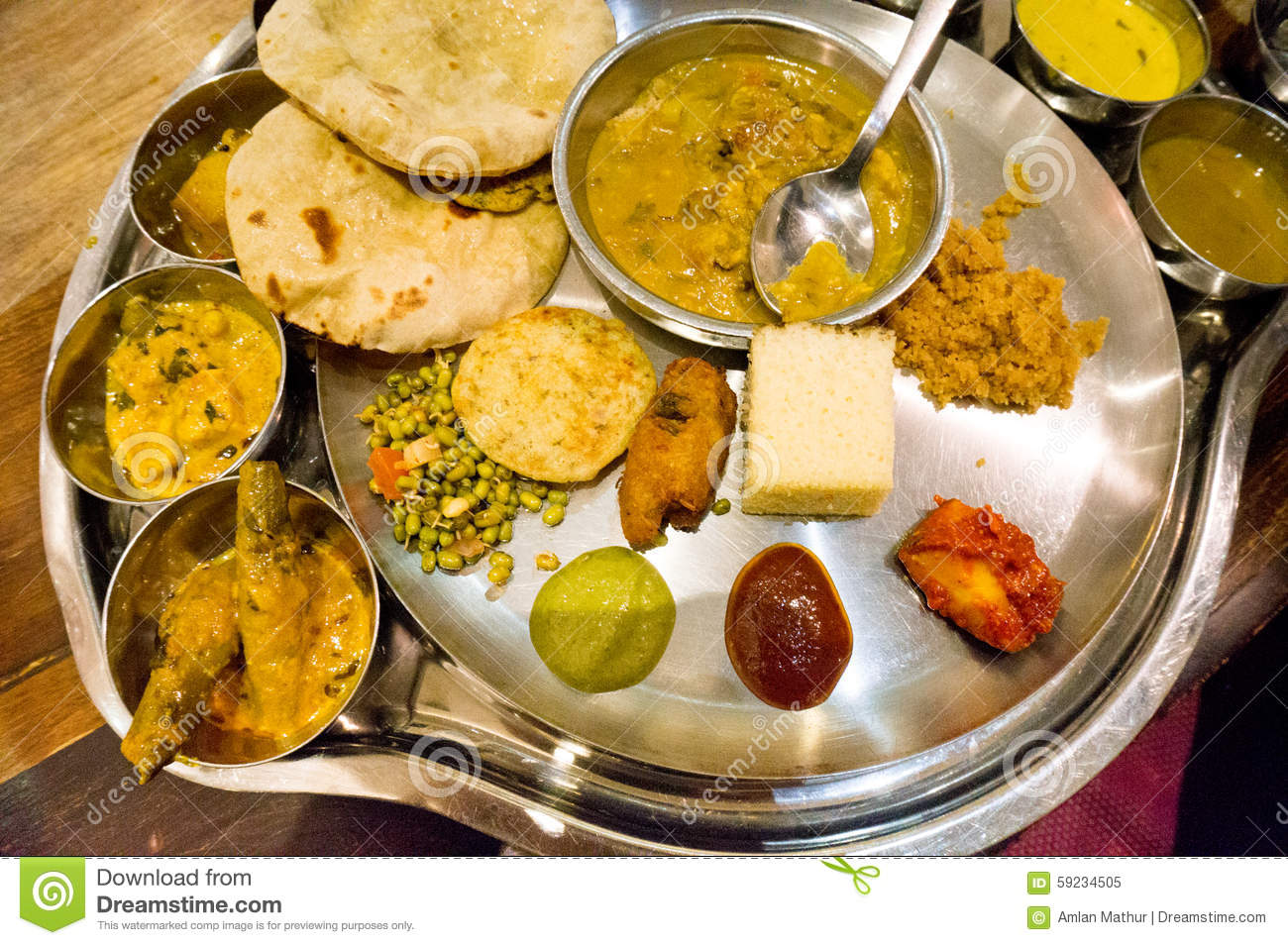 North indian cuisine stock photo image 59234505 for Abhiruchi south north indian cuisine