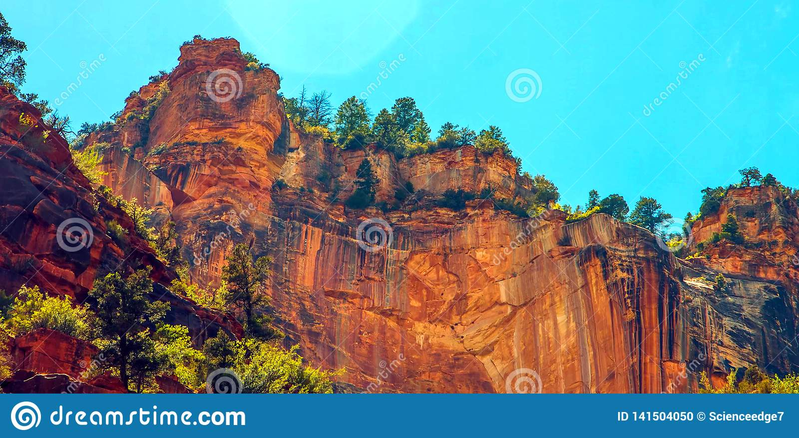 North Kaibab Trail in Grand Canyon National Park, Arizona, United States of America