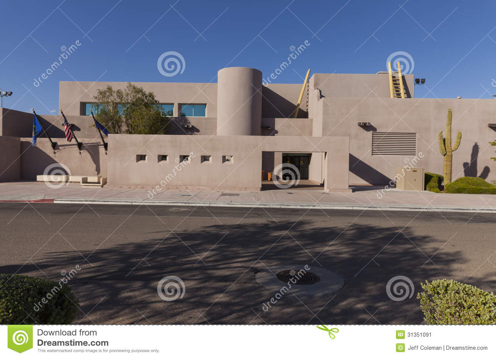 North Las Vegas Air Terminal, Daytime In Las Vegas, NV On