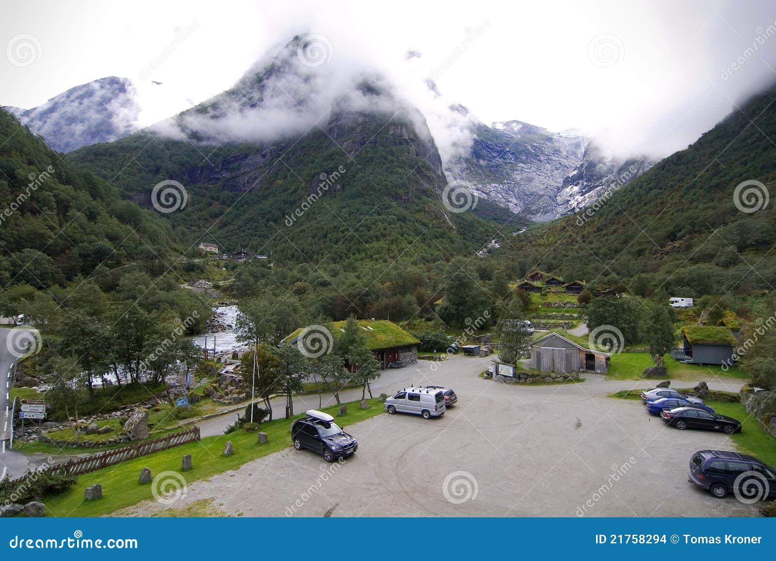 North mountain glacier camp