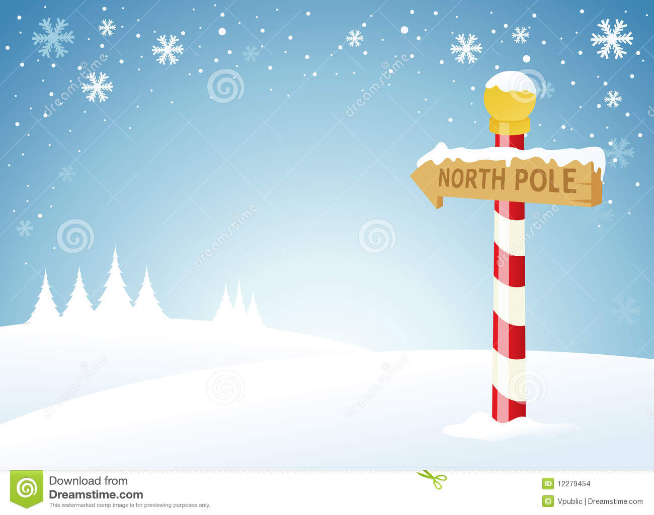 North Pole Stock Images - Image: 12279454
