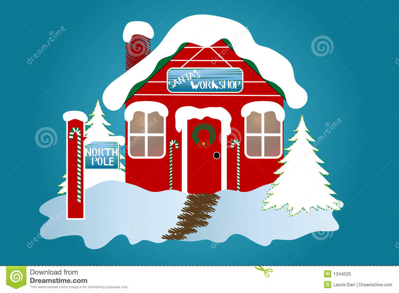 The North Pole Royalty Free Stock Photo - Image: 1344525