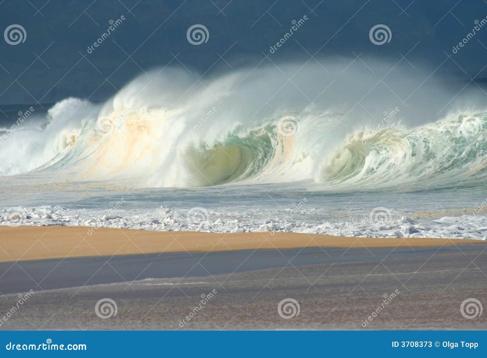 North Shore Crashing Waves