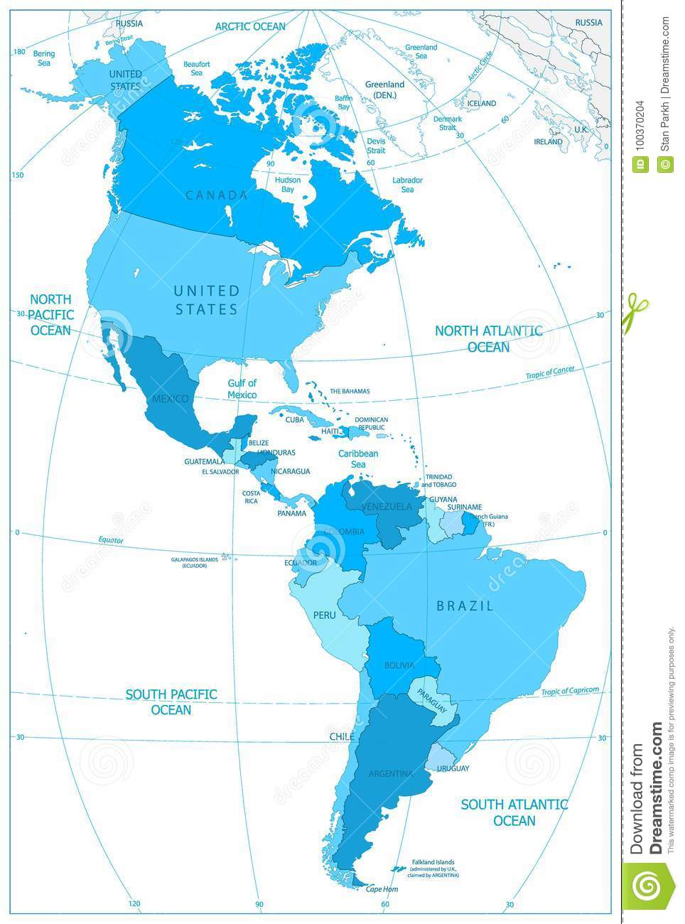 North And South America Map In Colors Of Blue Stock Vector ... on map of israel and america, map of japan and america, map of africa and america, map of canada and america, map of oceania and america, map of australia and america, map of ireland and america, map of cuba and america, map of south america and america, map of holland and america, map of caribbean and america, map of western europe and america, map of united states and america, map of central america and america, map of puerto rico and america, map of germany and america, map of bahamas and america, map of china and america, map of mexico and america, map of alaska and america,