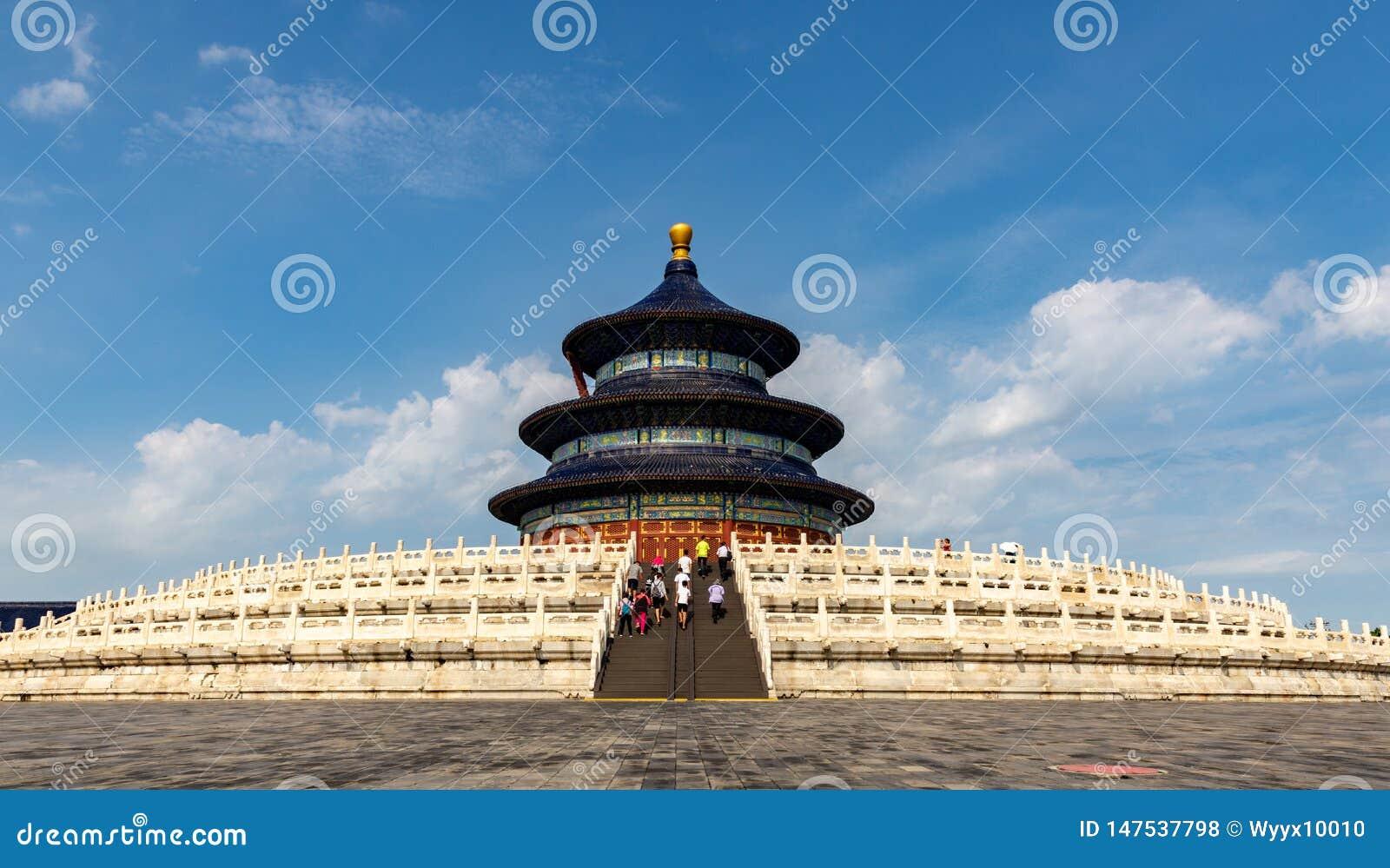 Beijing Temple of Heaven Hall of Prayer