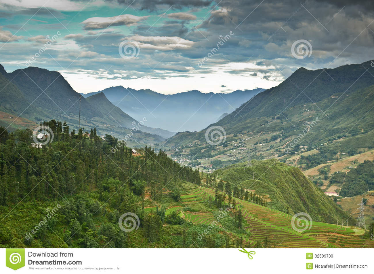 North vietnam landscape stock photo image of asian for Nearby landscapers