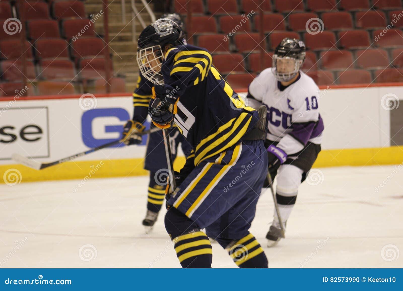 Northern Arizona University Hockey Editorial Image Image Of