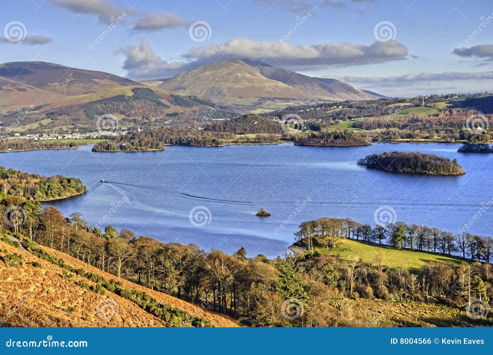 Northern Derwent Water and Keswick