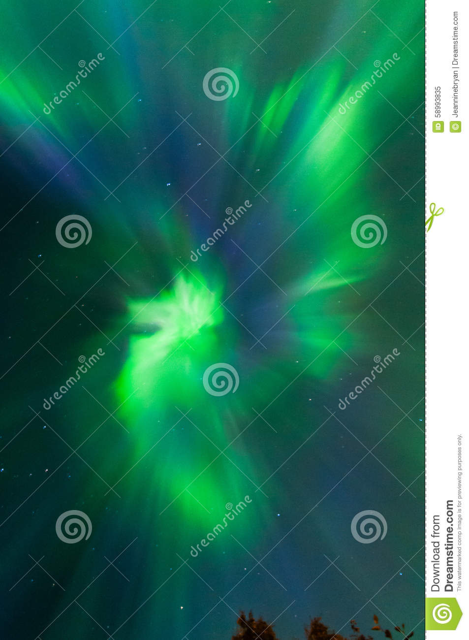 northern lights stock photo image 58993835