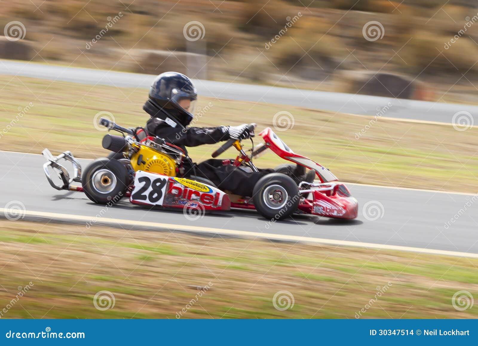 Northern Nevada Kids Kart Club Racing Editorial Stock Image - Image