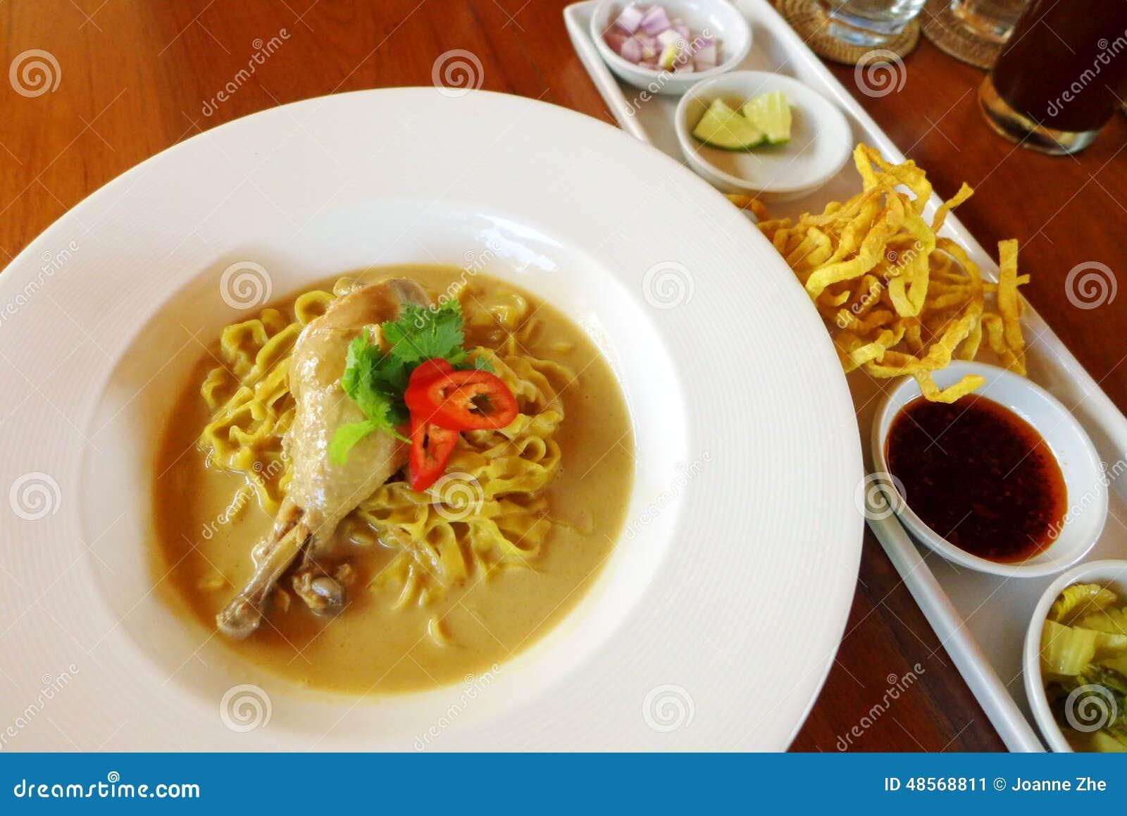 how to make khao suey soup