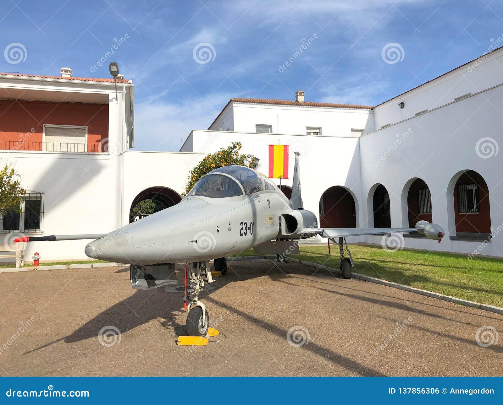 Northrop F-5 hiszpański samolot