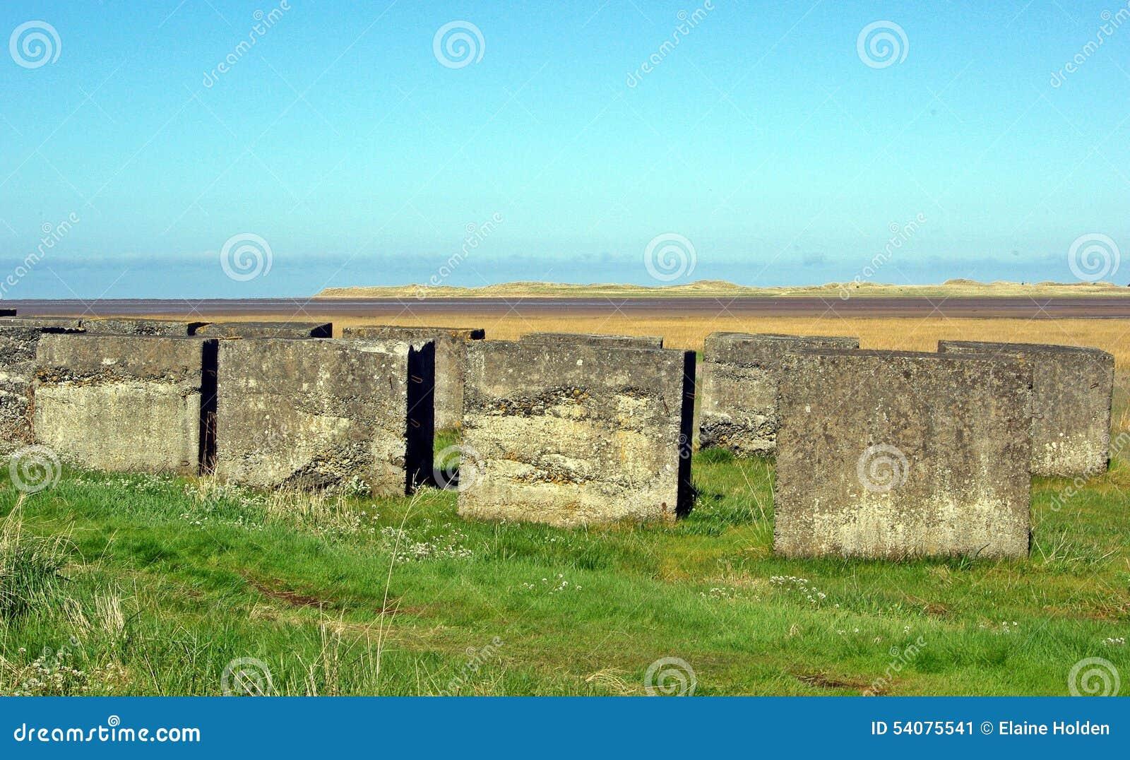 Northumberland van de tankdefensie Engeland