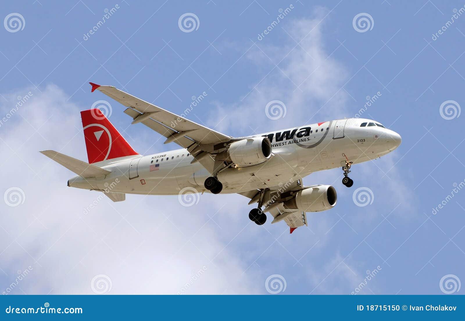 Northwest flygbolagflygplanflyg