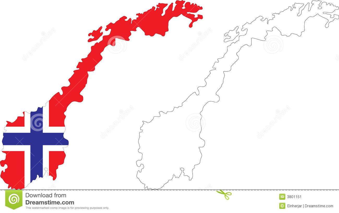 Norway Stock Illustrations Norway Stock Illustrations - Norway map clipart