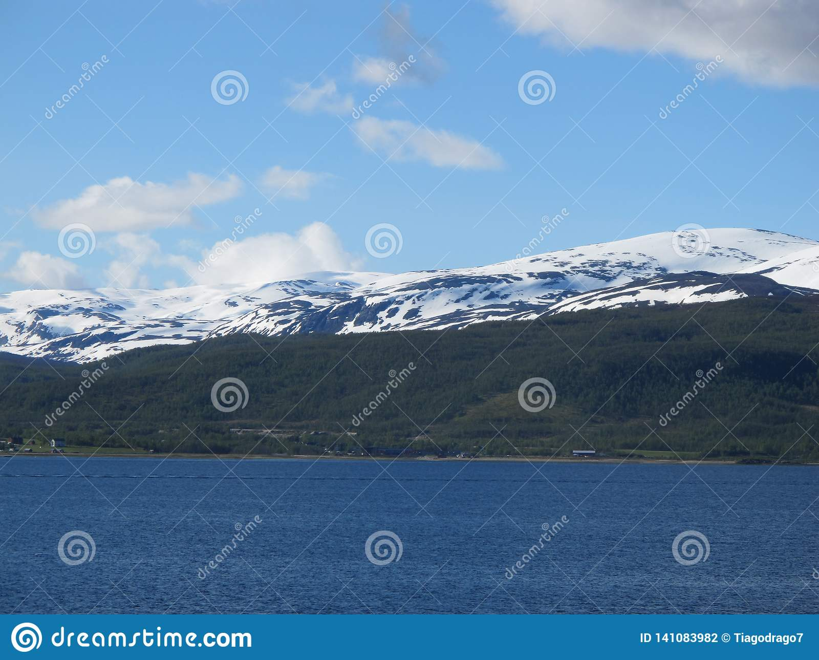 Norway`s Sea and Land