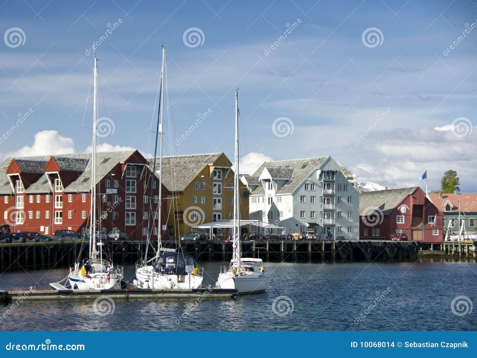 Norway tromso nabrzeże