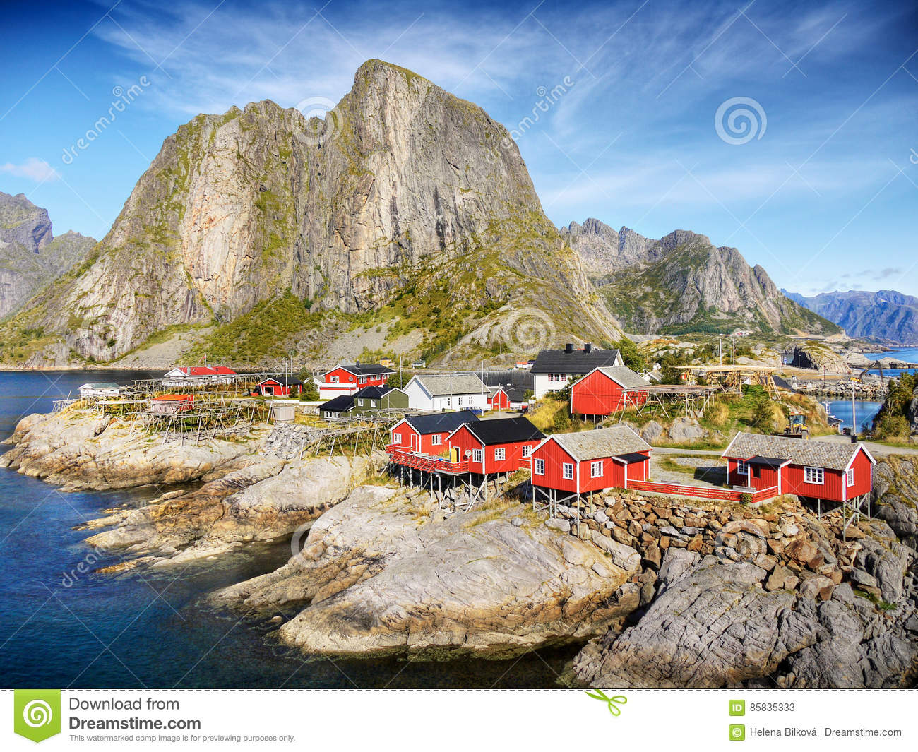 Phenomenal Norway Vacation Cottages Coast Mountain Landscape Stock Interior Design Ideas Clesiryabchikinfo