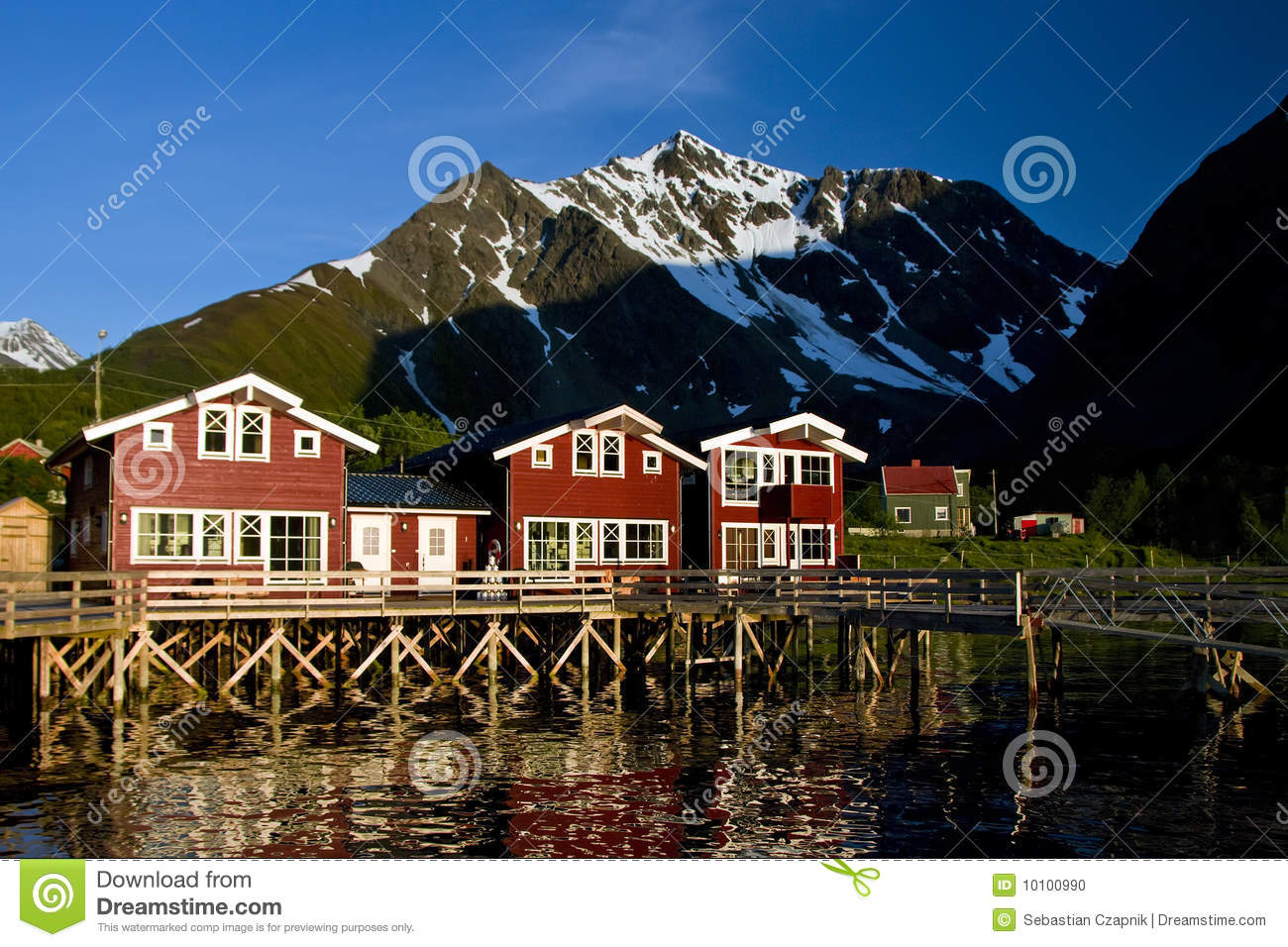 Norway wooden houses