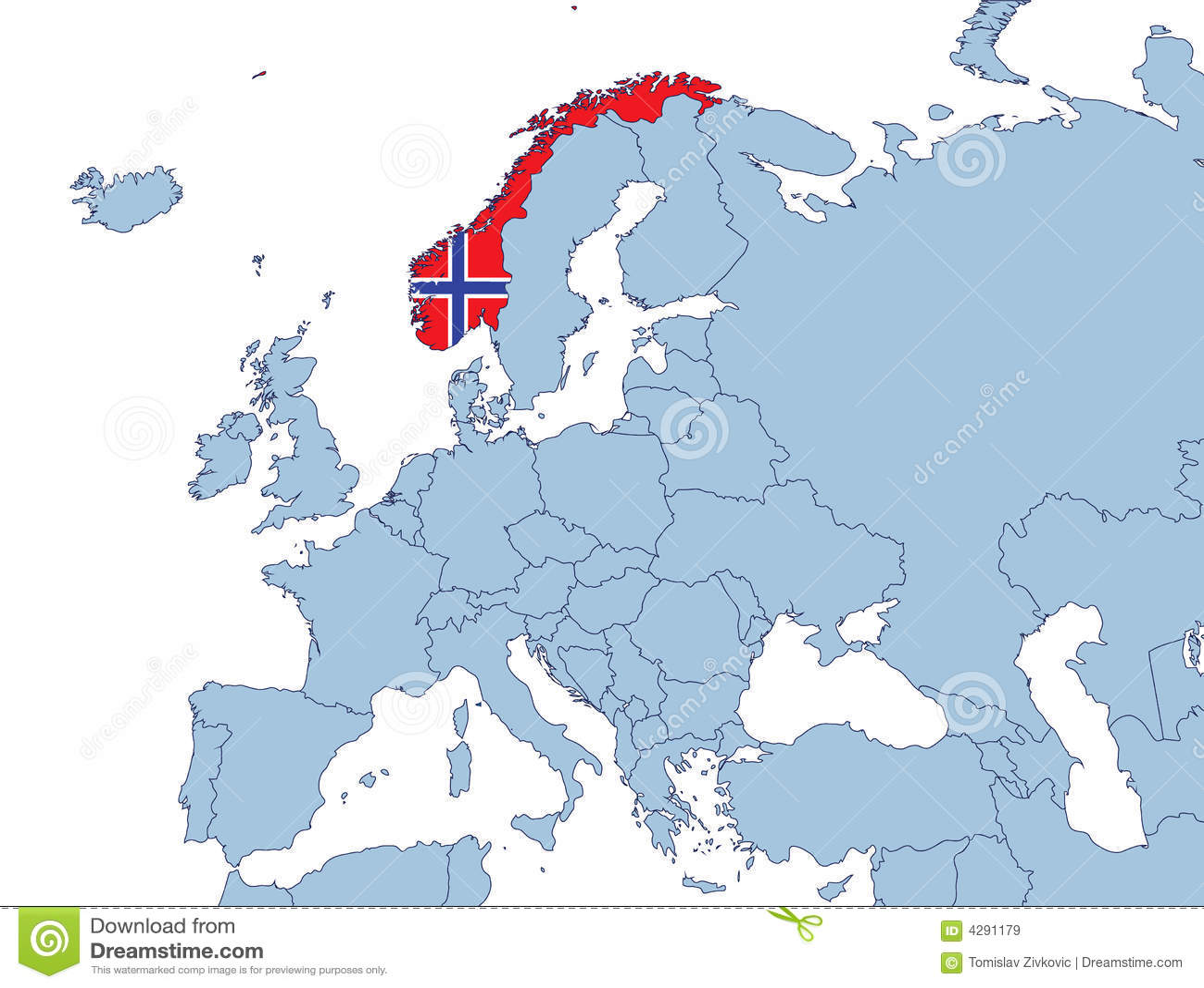 Norwegen Europa