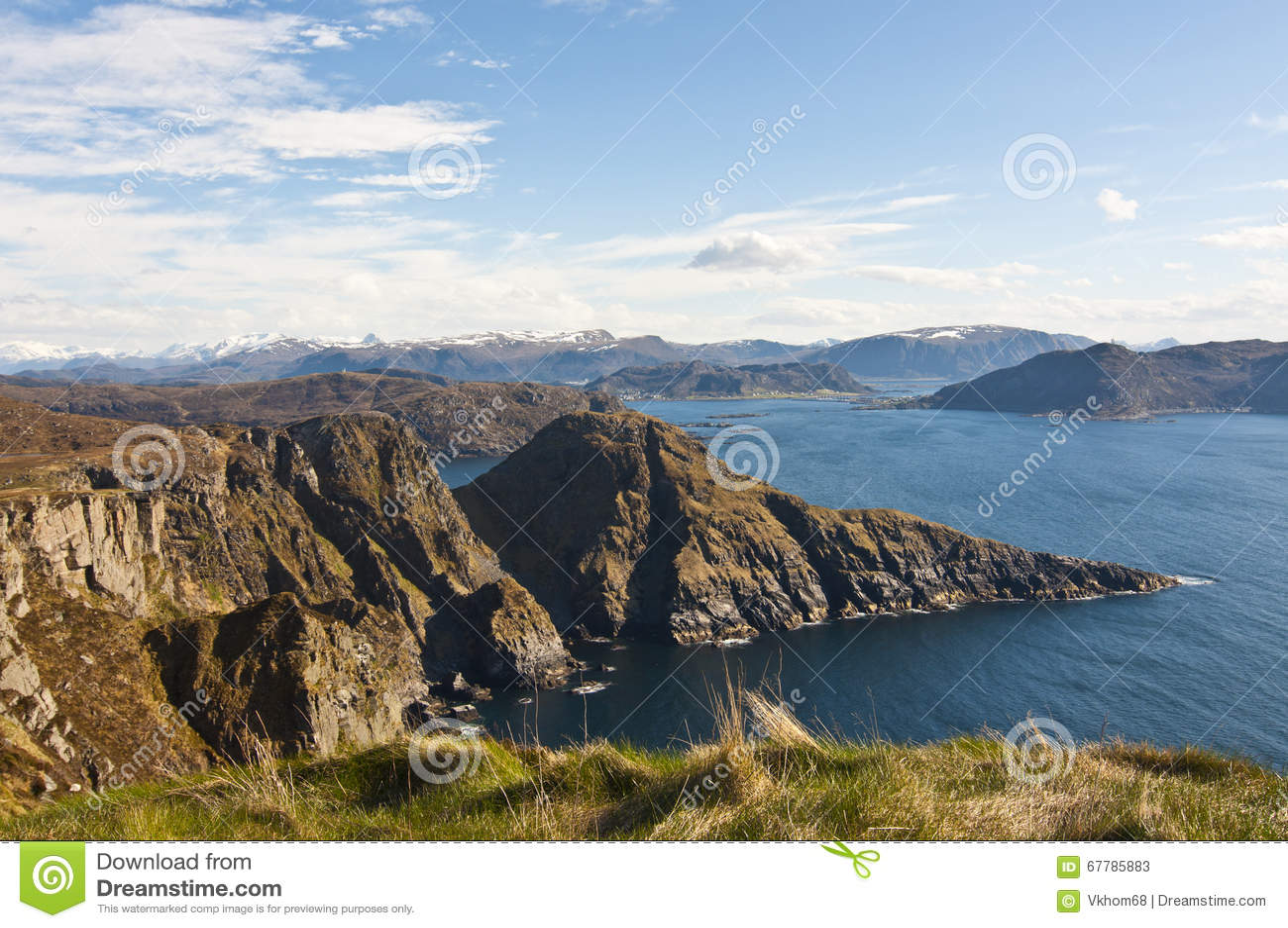 Norwegen Insel Runde Stockbild Bild Von Insel Reiseflug 67785883