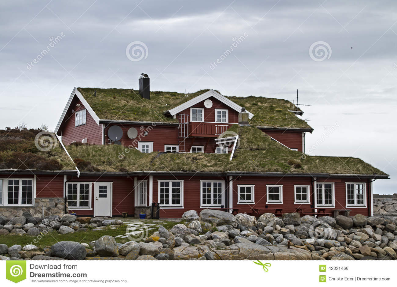 Norwegens Baustil stock photo. Image of houses, built - 42321466