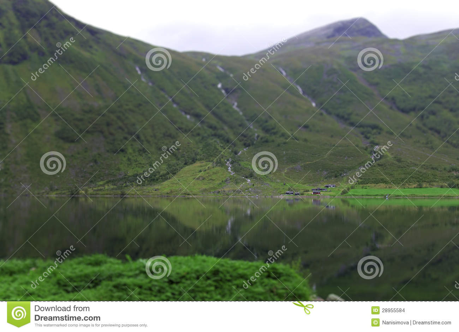 Norwegia góry jezioro