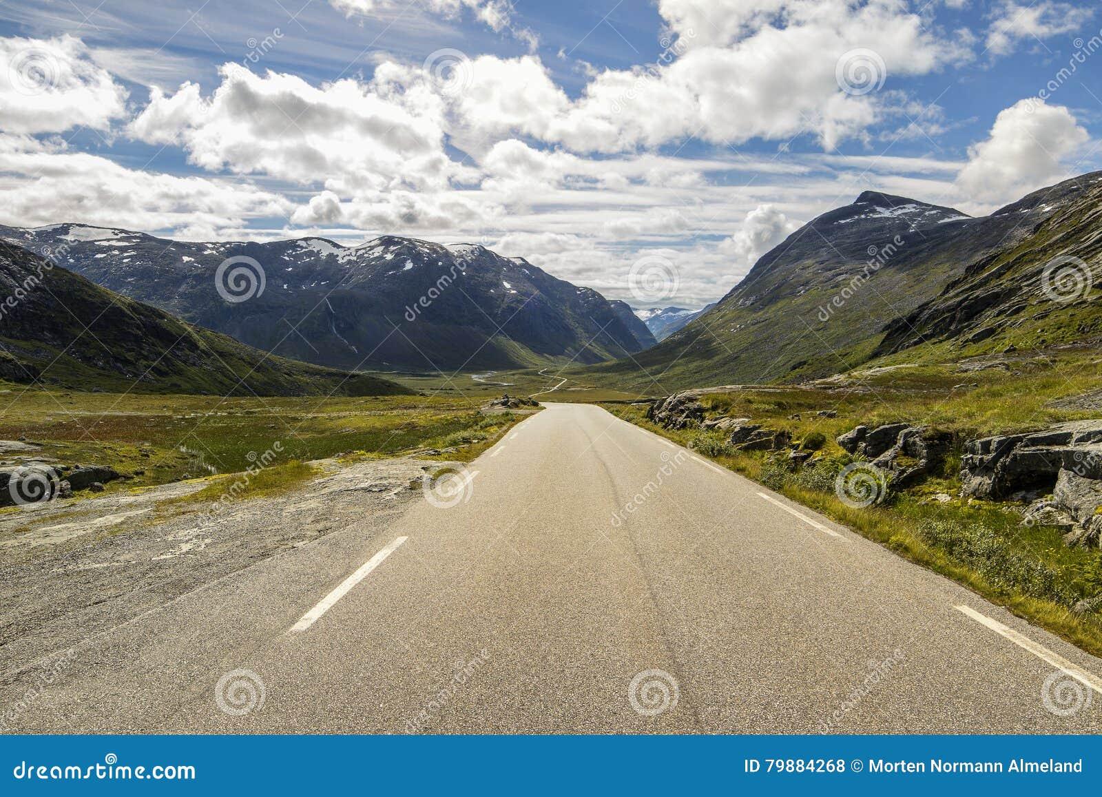 Norwegia scandinavia Podróż Trollstigen droga