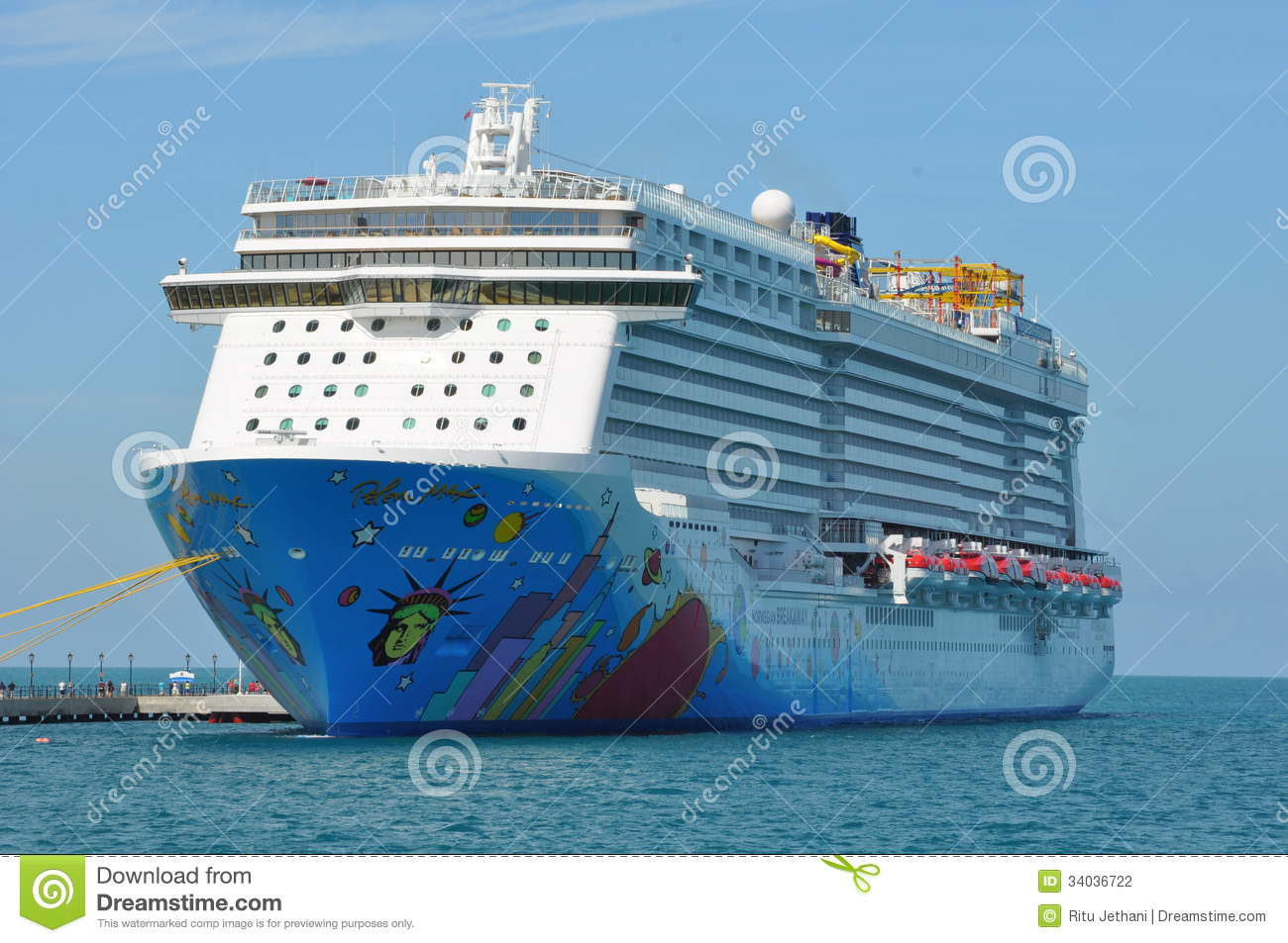 Norwegian Breakaway Editorial Photography  Image 34036722