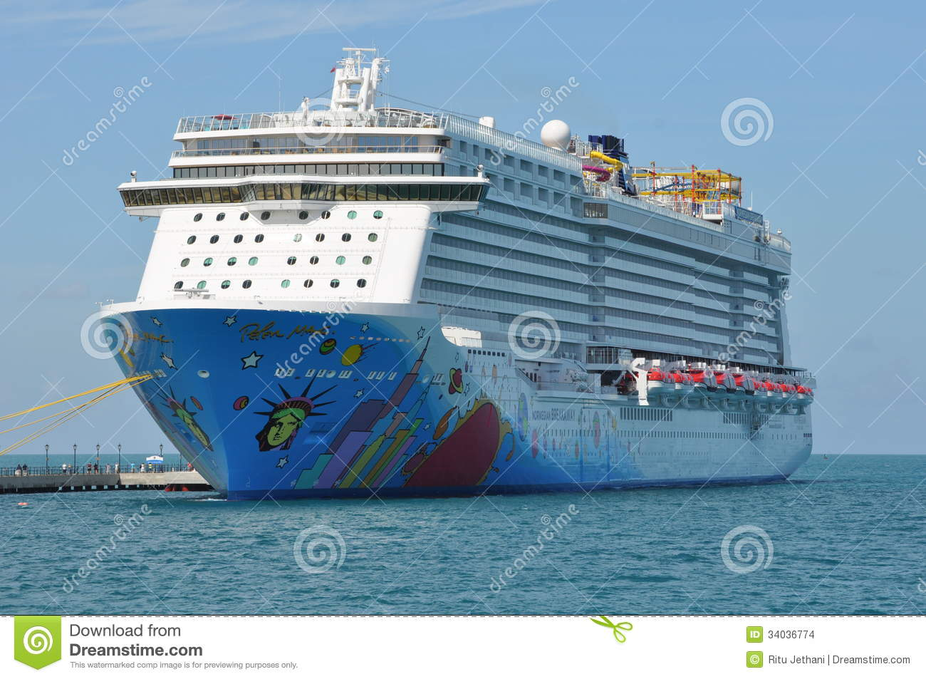 Norwegian Breakaway Editorial Stock Image  Image 34036774