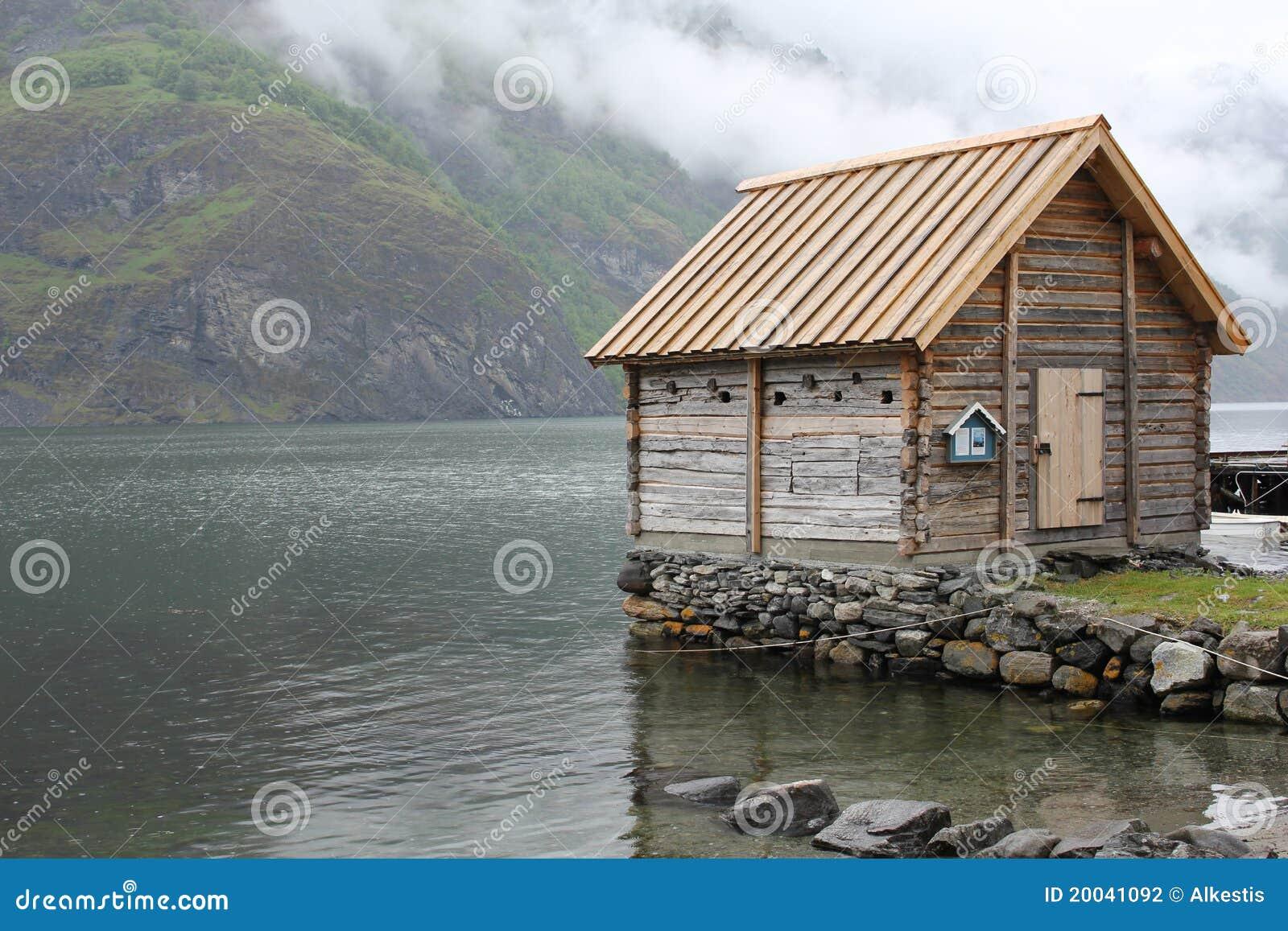 Norwegian Cabin Stock Photography Image 20041092