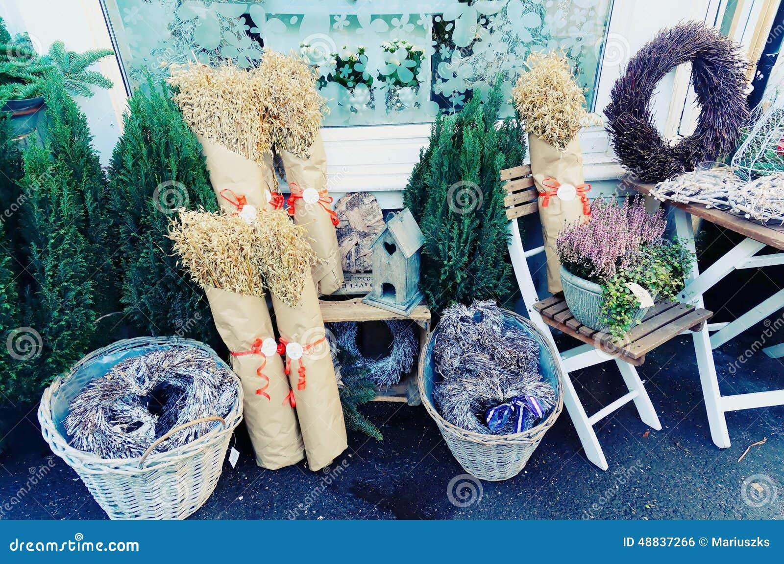 Norwegian Christmas Decorations Stock Photo Image Of