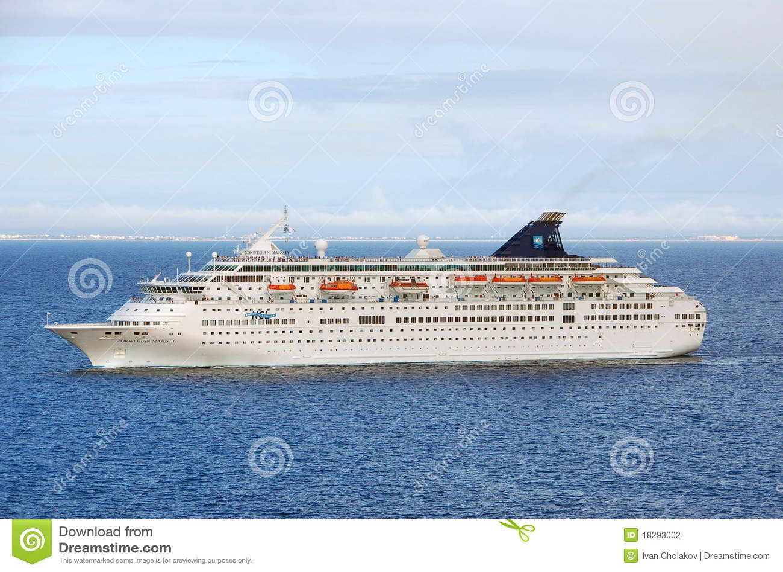 Norwegian Majesty Cruise Ship Editorial Photography