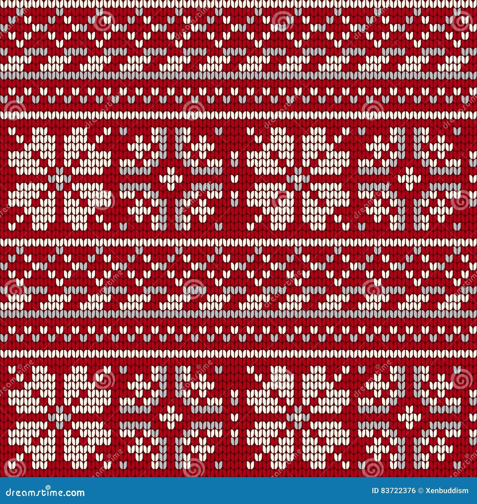Norwegian Star Knitting Pattern Stock Illustration - Illustration of ...