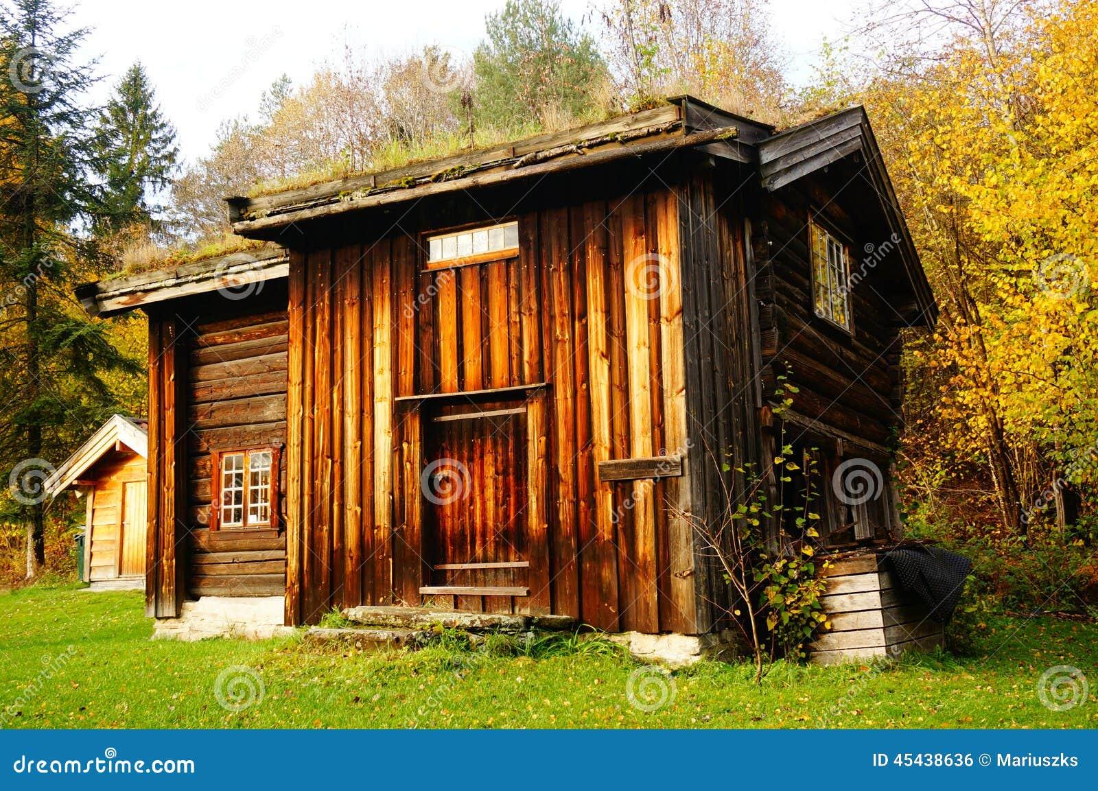 norwegian wooden farm house for service stock photo 45438636 megapixl
