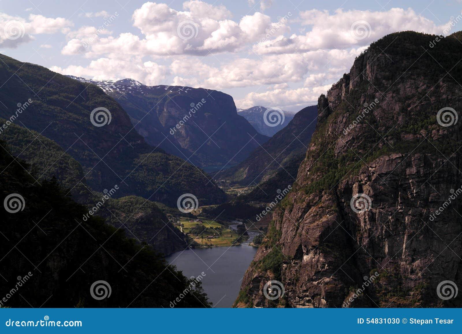 Norwegische Berge