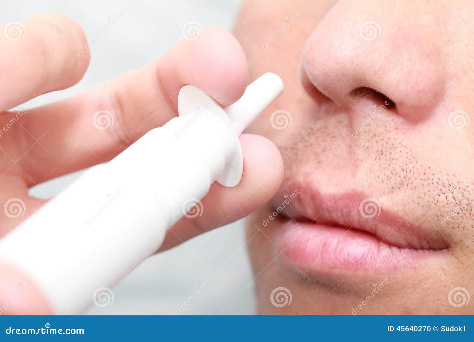 Nos kiść